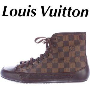 Louis Vuitton Damier Shoes Sneakers Men's Size 8.5